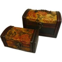 Gold rose colonial Box