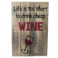 cheap wine sign