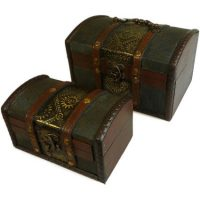 metal embossed 2 boxes