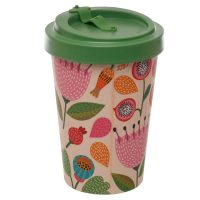 autumn floral travel mug 1