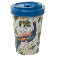 peacock travel mug 1
