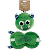 Green Monster Pillow 1