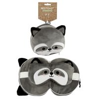 Raccoon Travel Pillow 1